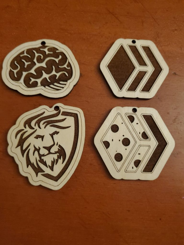 Crypto Tokens/Keychains